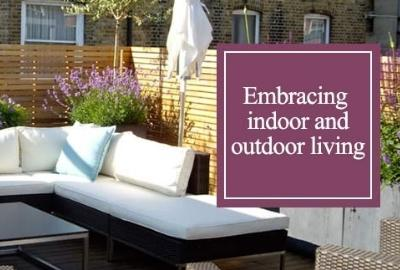 Embracing indoor and outdoor living