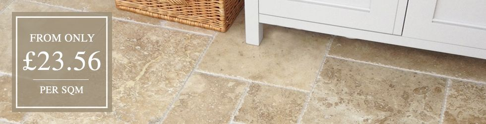 Travertine Wall & Floor Tiles