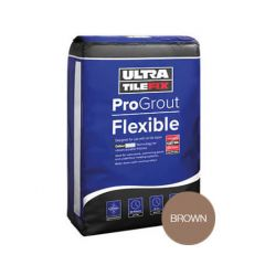 Flexjoint Premium Wall & Floor Tile Grout - Brown 3Kg