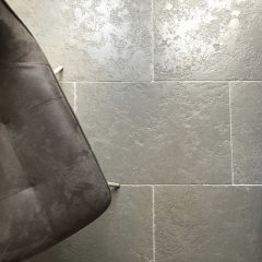 GREY ANTIQUE LIMESTONE FLAGSTONE FLOORING 600X400MM