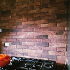 London Old Red Brick Effect Wall And Floor Tiles