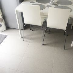 MODERNA LIGHT GREY PORCELAIN 600X300MM FLOOR & WALL TILES - LIFESTYLE