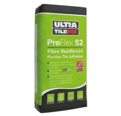20KG ULTRA TILE PROFLEX S2 WALL & FLOOR TILE ADHESIVE - WHITE