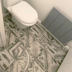 Ravello Grey Patterned tiles  - lifestyle