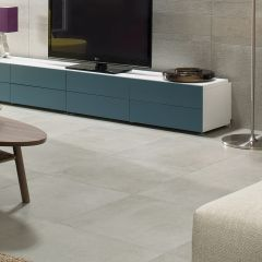 Soho Stone Concrete And Stone Effect Porcelain Tiles -  600x600mm - Lifestyle