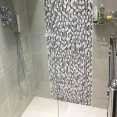 Soho Stone Porcelain wall & Floor Tiles - Customer Project AYo Omideyi